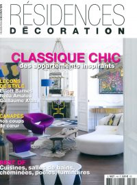 2018_10@RESIDENCES DECORATION_FRANCE_COUVERTURE