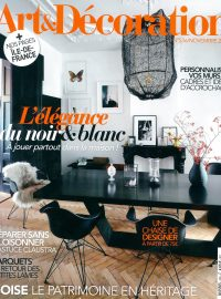 2018_11@ART & DECORATION_FRANCE_COUVERTURE