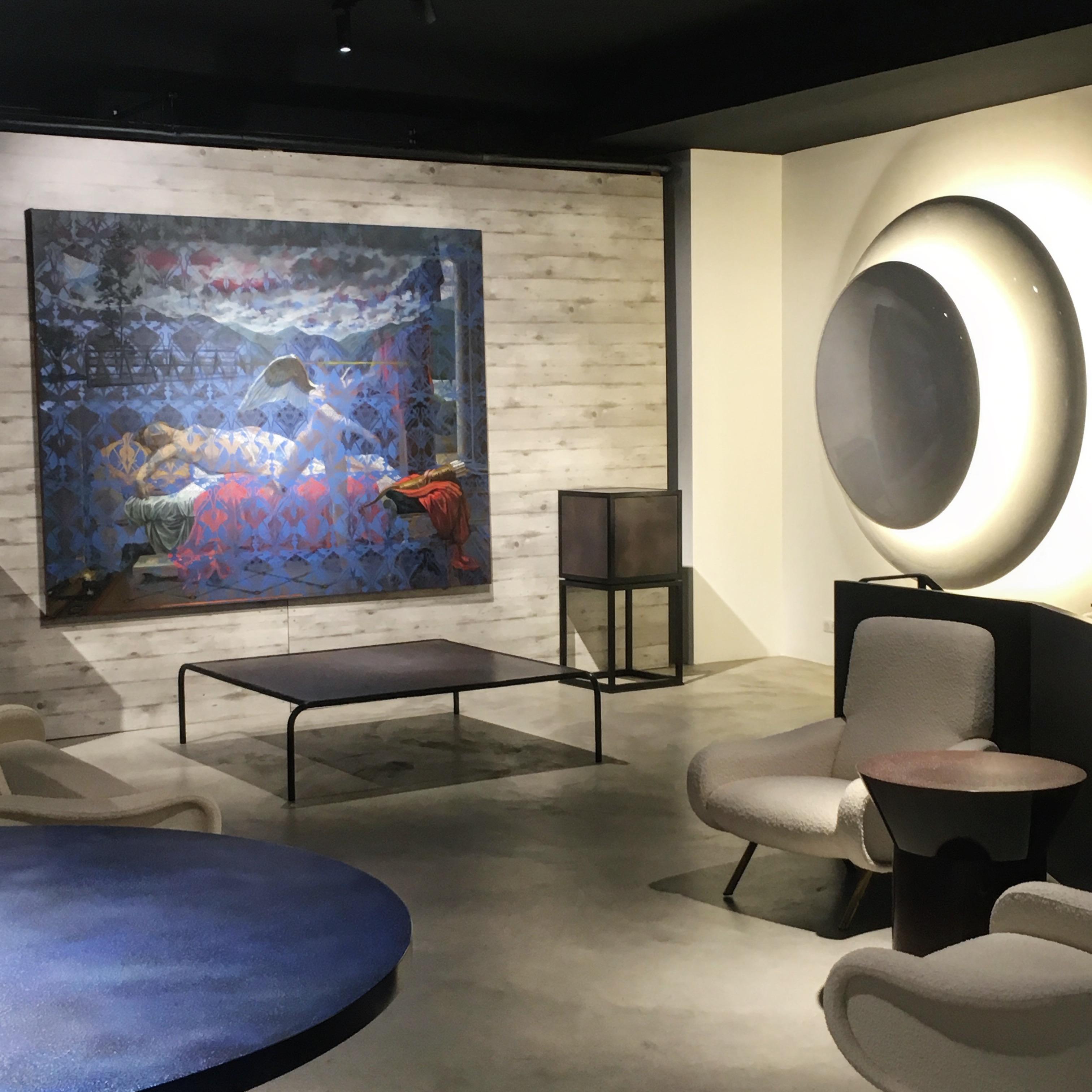 Exposition De la Ligne à l'Horizon, Olivier Masmonteil et Nicolas Aubagnac, 17 janvier-23 février 2019