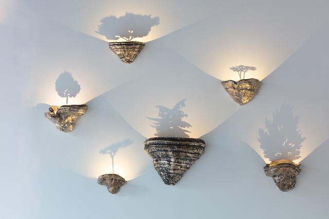 galerie-scene-ouverte-paris-kostia-lampe-champignon-bronze-laiton